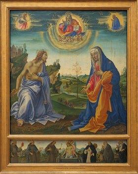 Filippino Lippi: Die Fürbitte Christi und Maria