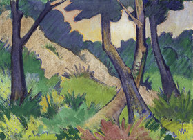 Otto Müller: Landschaft III