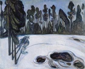 Edvard Munch: Stjernenatt. / Sternennacht