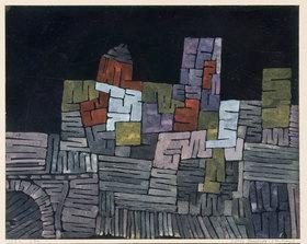 Paul Klee: Altes Gemäuer. Sizilien
