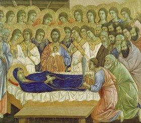 Duccio di Buoninsegna: Tod Mariae