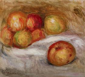 Auguste Renoir: Stillleben mit Äpfel