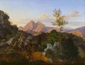 Adrian Ludwig Richter: Abend in den Apenninen