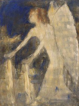 Christian Rohlfs: Engel, der Licht in die Gräber trägt