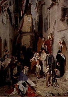 Nikolaus Gysis: Siegesfeier