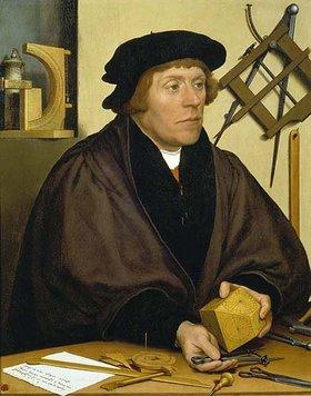 Hans Holbein d.J.: Bildnis des Nikolaus Kratzer