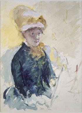Mary Cassatt: Selbstbildnis