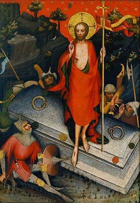 Meister des Altars von Wittingau: Auferstehung Christi