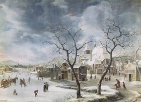 Jan Beerstraten: Winterlandschaft