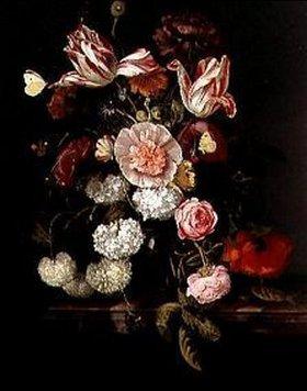 Jacob van Walscapelle: Stillleben mit Blumen