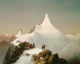 Markus Pernhart: Der Großglockner im Schnee