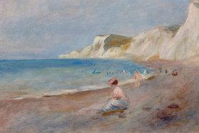Auguste Renoir: Am Strand von Varengeville (La Plage de Varengeville)