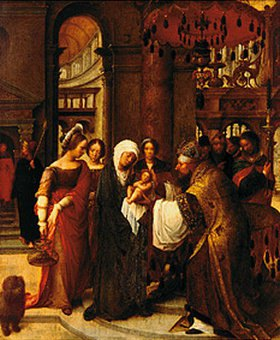 Adriaen Isenbrant: Darstellung Christi im Tempel