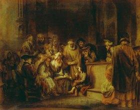 Gerbrand van den Eeckhout: Der 12-jährige Jesus im Tempel
