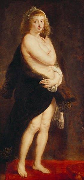 Peter Paul Rubens: Helene Fourment, die zweite Gattin des Künstlers (Das Pelzchen)