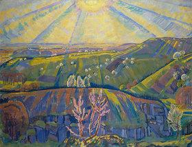 Erich Kuithan: Frühlingssonne, Erinnerung an den Bodensee