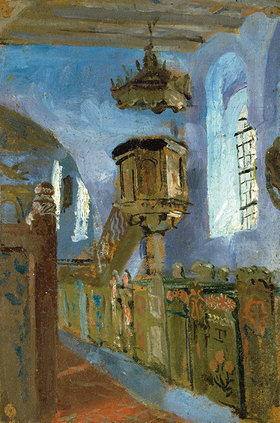Erich Kuithan: In einer oberbayrischen Dorfkirche