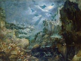 Frederick van Valckenborch: Schlacht bei einer Hafenstadt