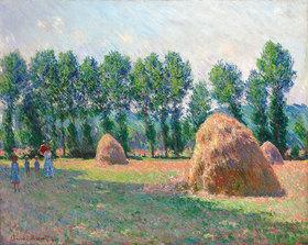 Claude Monet: Heuschober in Giverny