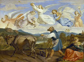 Joseph Ritter von Führich: Der Traum des hl.Isidor