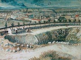 Vincent van Gogh: Am Stadtrand von Paris nahe Montmartre
