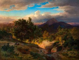 Andreas Achenbach: Römische Landschaft
