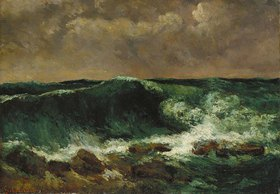Gustave Courbet: Die Welle