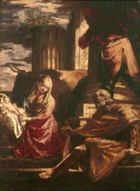 Gian Antonio Burrini: Die Geburt Christi