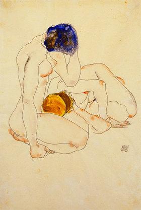 Egon Schiele: Zwei Freundinnen