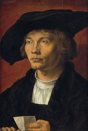 Albrecht Dürer: Bildnis eines jungen Mannes (Bernhard von Reesen?)