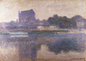 Claude Monet: Die Kirche von Vernon im Nebel