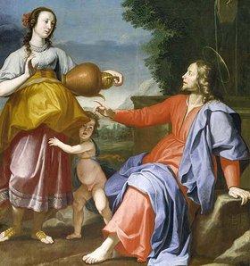 Lorenzo Lippi: Christus und die Samariterin am Brunnen
