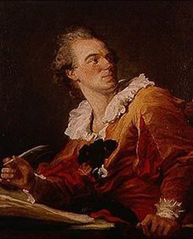 Jean Honoré Fragonard: Die Inspiration