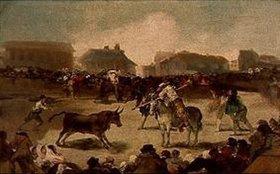Francisco José de Goya: Stierkampf auf dem Dorfe