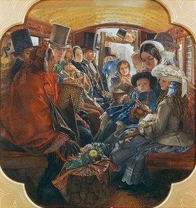William Maw Egley: Bus-Interior (Omnibus Life in London)
