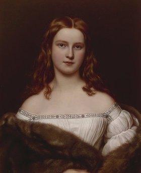 Joseph Karl Stieler: Wilhelmine Sulzer, Bildnis, aus der Schönheiten-Galerie König Ludwigs I. von