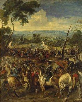 Peter Paul Rubens: Heinrich IV. in der Schlacht bei Arques. (Zusammen mit Pieter Snayers)