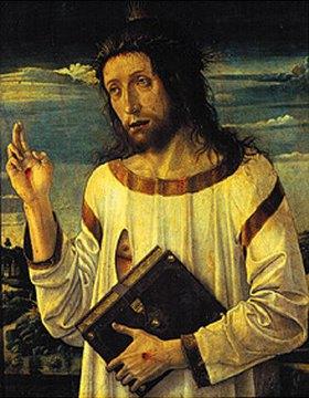 Giovanni Bellini: Segnender Christus