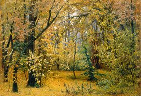 Iwan Iwanowitsch Schischkin: Herbstwald