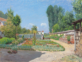 Alfred Sisley: Der Gemüsegarten (Le Potager)