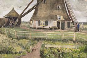 Vincent van Gogh: Die Laakmolen bei Den Haag (Die Windmühle). Juli