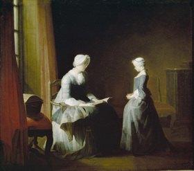 Jean-Baptiste Siméon Chardin: Die Lektion
