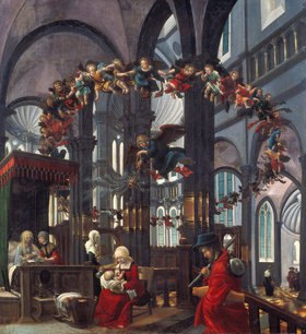 Albrecht Altdorfer: Geburt Mariae