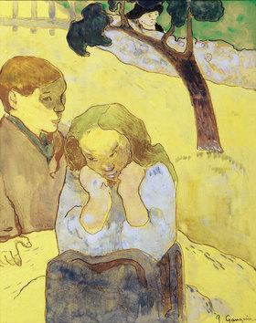 Paul Gauguin: Das menschliche Leid / Les misères humaines. 1889 ()