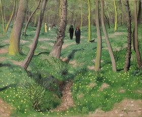 Felix Vallotton: Unterholz im Frühling (Sousbois en printemps)