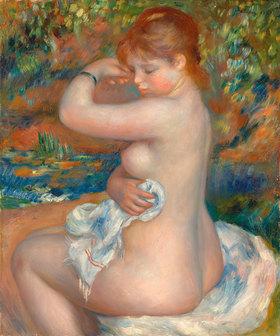 Auguste Renoir: Badende. / Baigneuse