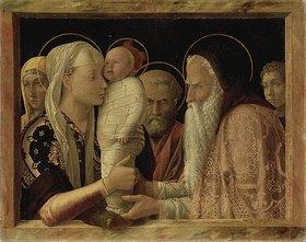 Andrea Mantegna: Darstellung Christi im Tempel