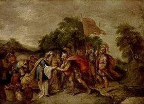 Frans Francken II.: Die Begegnung von Abraham und Melchisedek