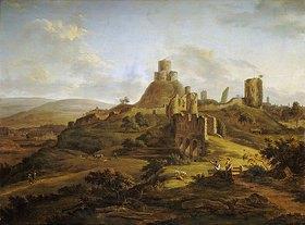 Hendrik Frans de Coort: Blick auf das Launceton Castle