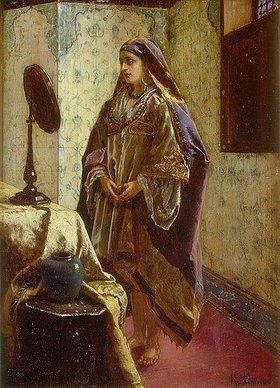 Rudolph Ernst: Araberin vor dem Spiegel